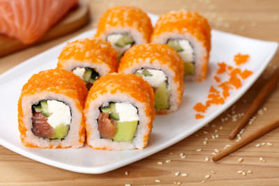 sushi, fish, toxins, contamination, water