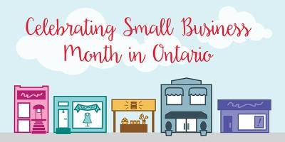 celebratubg small business month