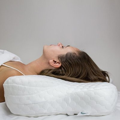 Cervical curve Support, Back Sleeping, Pillow