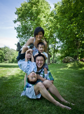 Dr. Holman Yu Family Portrait