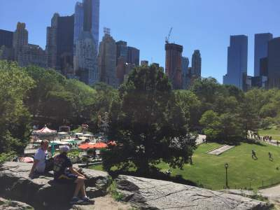 Central Park and The Towers