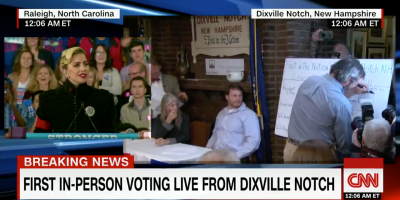 Dixville Notch Casts First Community Votes in the Election of 2016