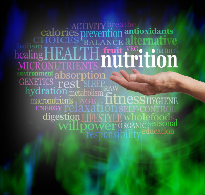Nutrition, health, hands, wellness, balance