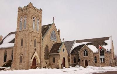 Church in Galt Cambridge