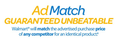 walmart ad match guaranteed unbeatable price match savings