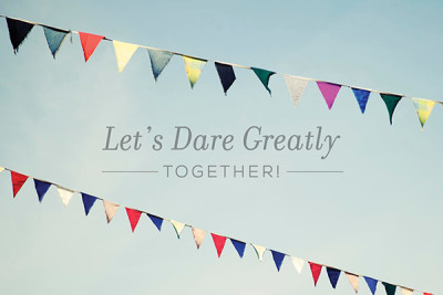 Let's Dare Greatly Together, Lee Pryke, Klusster
