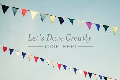 Let's Dare Greatly Together, Lee Pryke, Klusster