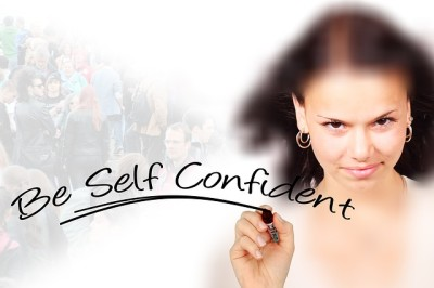 woman holding pen, self confident, positive, quote