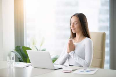 healthy workplace, disability management, health, meditation