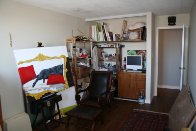 Before, Room, Redesign, Interior Design, Lenore Brooks Design, Art