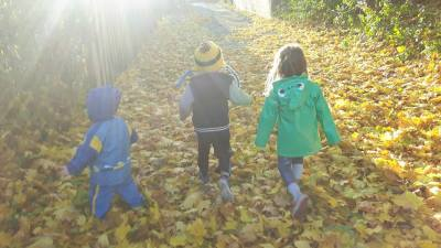 Outdoor fun, Faery Home Childcare