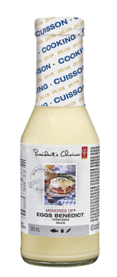 presidents choice eggs benedict sauce must try