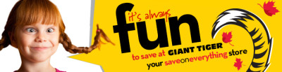 SAVE AT GIANT TIGER