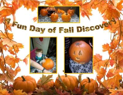 Fall fun, pumpkins, Discovery