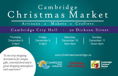 Cambridge Christmas Market