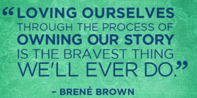 owning, loving, brave, thriving, i am,
