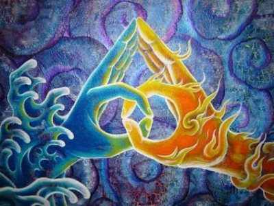hand mudras, space clearing