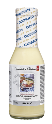 presidents choice memories of egg benedict sauce must try
