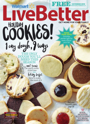walmart live better magazine holiday cookie recipes