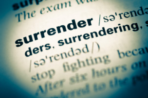 surrender, detach, outcomes, mental health