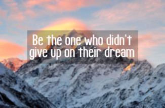 don't give up, dreams, goals, you can do it, Fournier Coaching