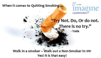Yoda, smoker, quitting smoking, easy