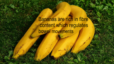 Bananas are a complete source of good health.