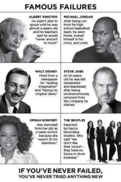 Oprah Winfrey, Albert Einstein, Michael Jordan
