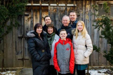 Tony Lea family