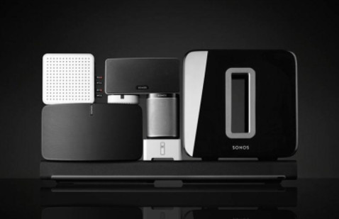 Sonos audio sound systems including their speakers and other audio video equipment