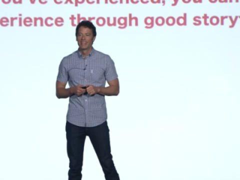 Matthew Luhn - Original Storyteller - Pixar keynote speaker at marketing united 2017