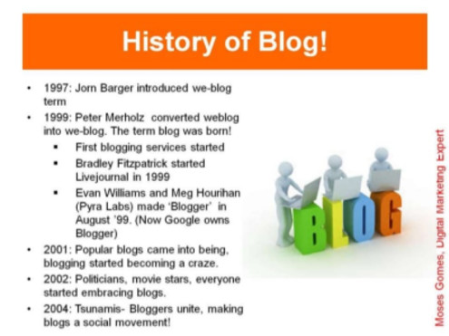 The Advantages and Disadvantages of Blogging