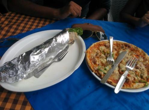 Food at kheerganga