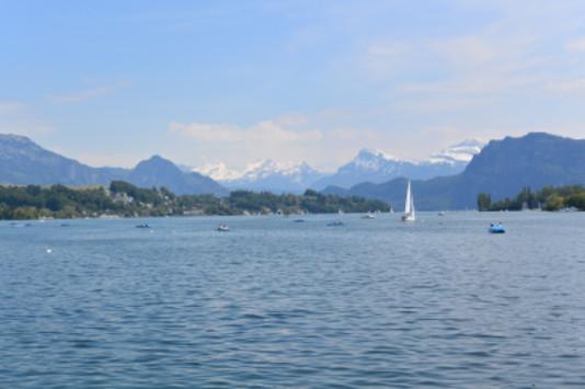 Switzerland, alps, mountain, fun