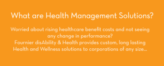 health management, healthy at work, occupational health