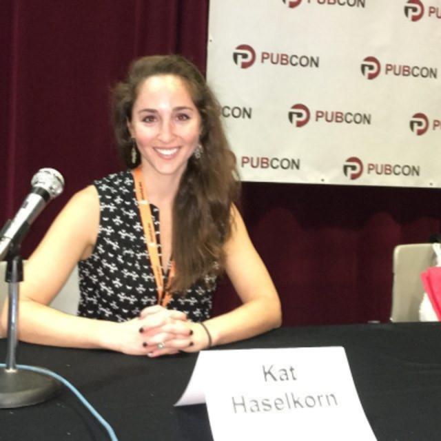 Kat Haselkorn - Director of Content - Go Fish Digital keynote speaker at pubcon