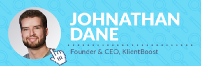 Keynote Speaker & Founder, Klientboost - Johnathan Dane