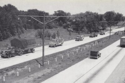 QEW - North America's First  Intercity Divided Highway