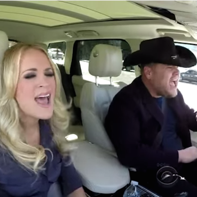 Carpool Karoke: Carrie Underwood & James Corden
