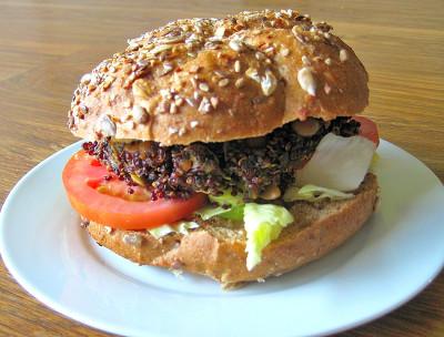 Healthy, Grains, Burger