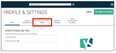 Adding & Managing Team Alerts