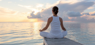 meditation, calm, present