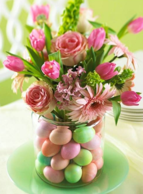 Easter Egg Easter Flowers
