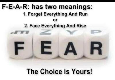 fear, choice,
