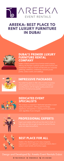 Areeka: Best Place to Rent Luxury Furniture in Dubai