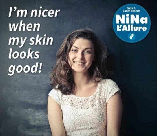Nina L'Allure, Burlington, Laser Hair Removal, Facials