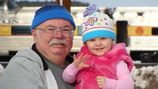 visit grandparents grandchildren
