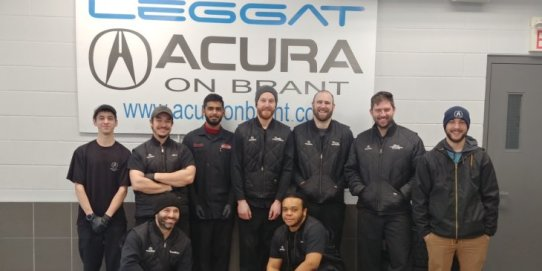 Acura On Brant Burlington, Service Dept