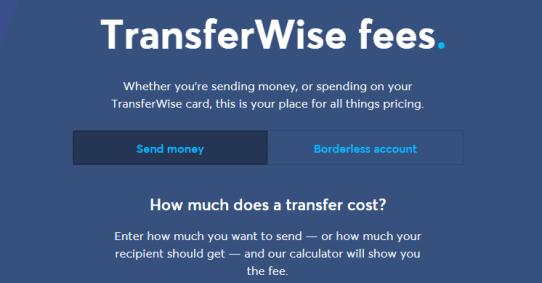 transferwise fees, send money online, cheap international transfers