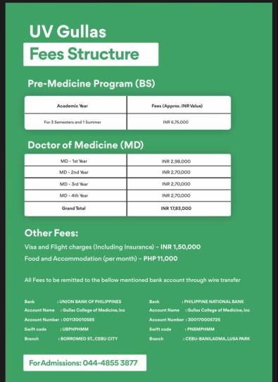 Philippines medical college admissions 2020 opens now-uv gullas medical college